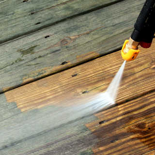 Image Of Residential Pressure Washing
